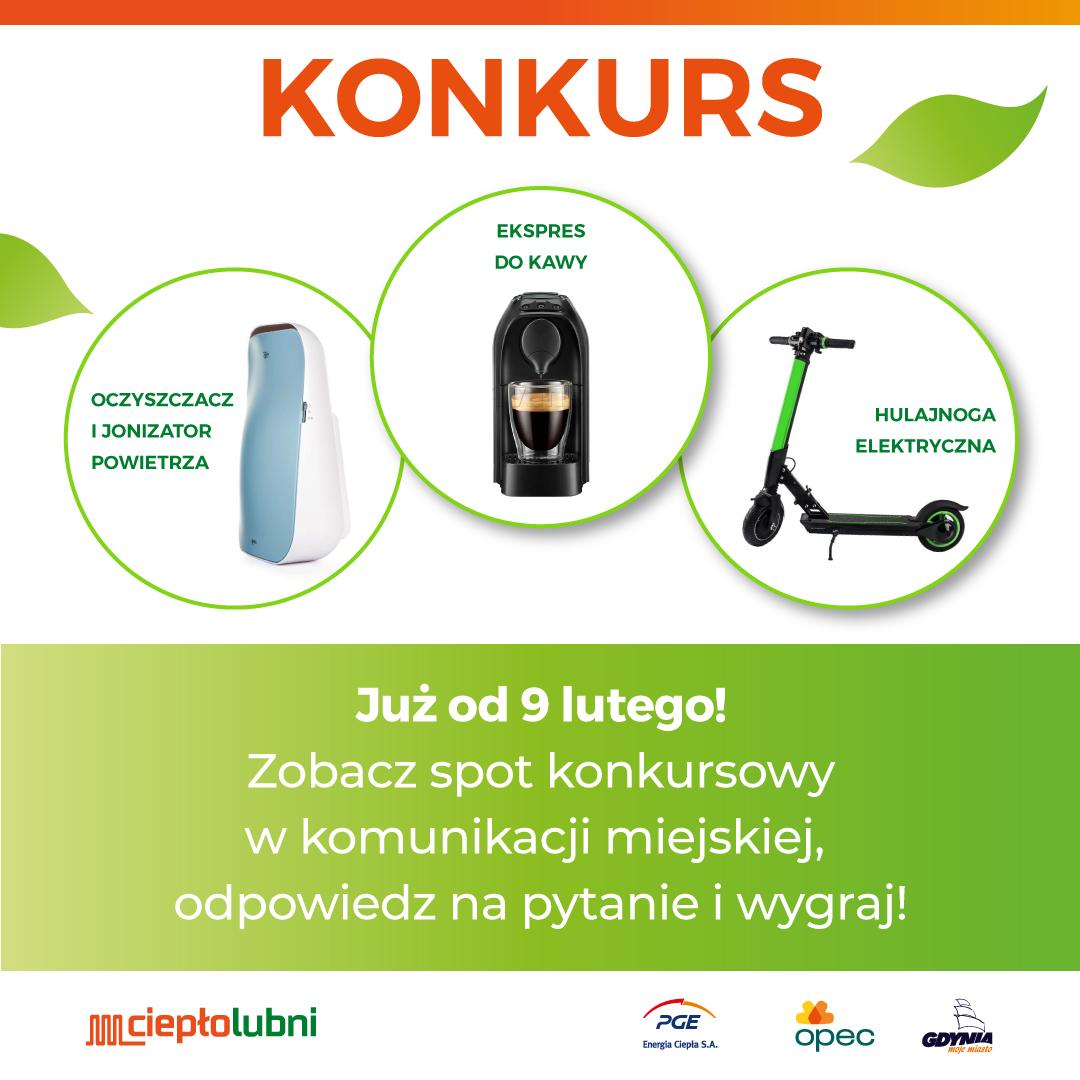 Zapraszamy mieszkańców Gdyni do konkursu o cieple sieciowym